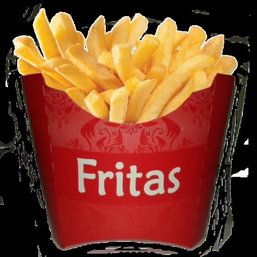 Embalagem para batatas fritas caixa descartável 100 unidades