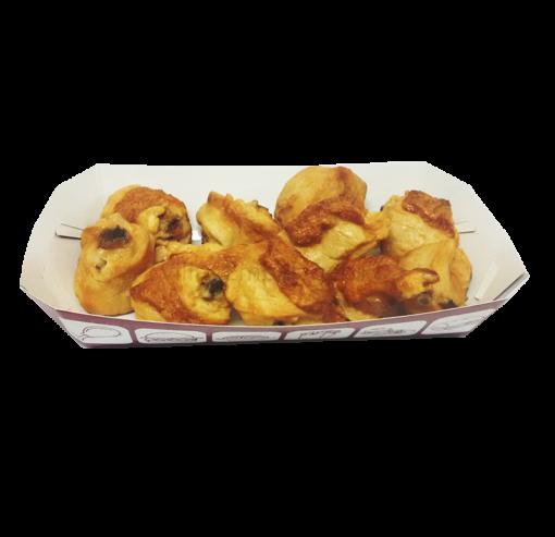 Embalagem para food truck porções e lanches caixa box descartável P